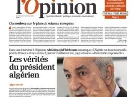 tebboune-journal l'opinion
